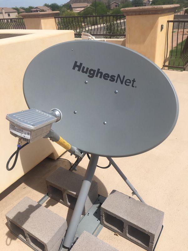 Hughesnet Gen 5 Wireless Internet Modem And Satellite Dish For Sale In Mesa Az Offerup
