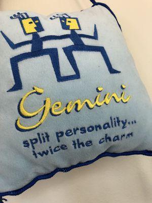 Little door pillow - Gemini sign for Sale in Houston, TX