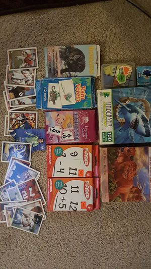 Card Games, puzzles & sport cards Bonanza! for Sale in Olympia, WA