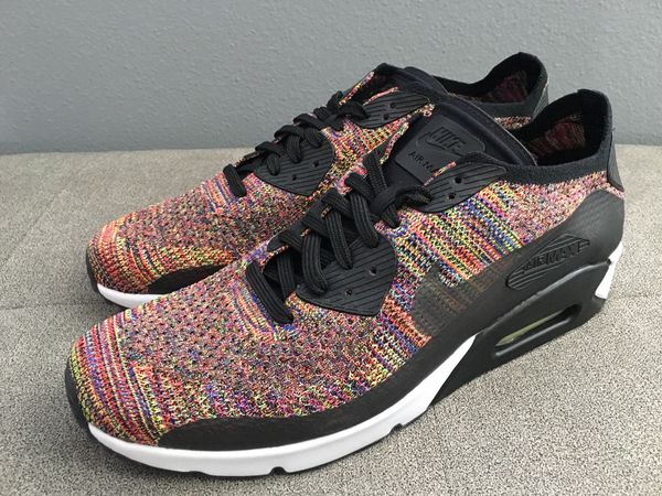 a8350c3a30992 Nike Air Max 90 Ultra 2.0 size 12.5 Flyknit Multi-Color brand new without  box