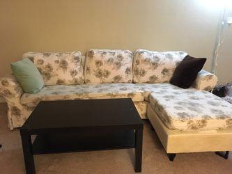 Sofa and center table Thumbnail
