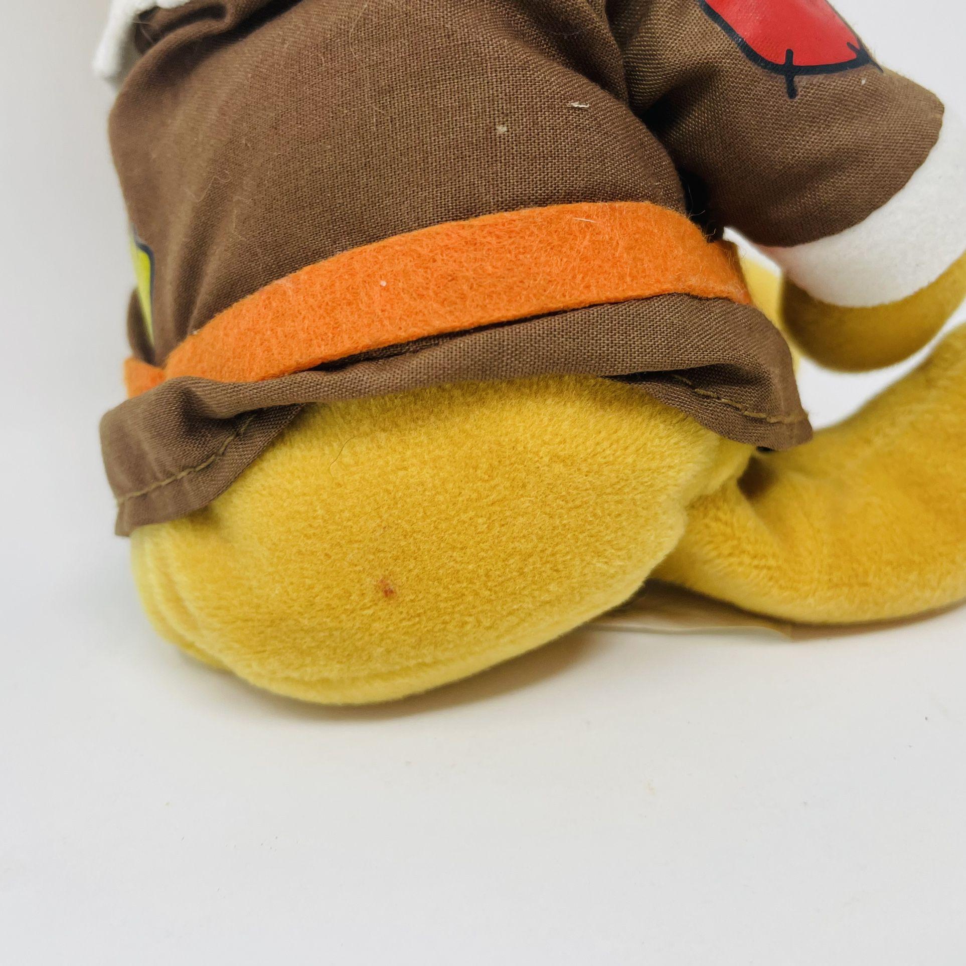 Disney Pilgram Pooh Bean Bag Plush