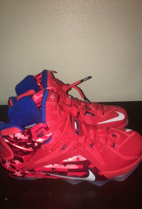 6ea9633f3d2c Nike Lebron 12 USA. Size 8.5. for Sale in Portland