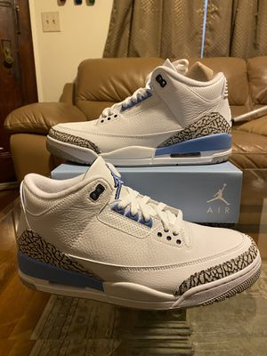 Photo Jordan 3 Retro UNC DS Size 11