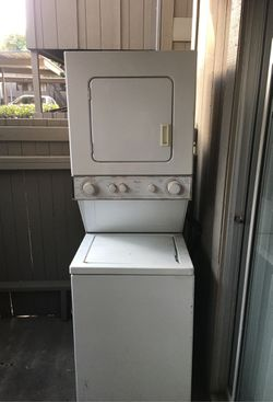 Whirlpool Stackable washer and dryer Thumbnail