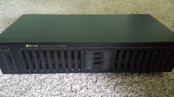 SHERWOOD EQ460B *MINT* STEREO GRAPHIC EQUALIZER +PEAK LEVEL DISPLAY for  Sale in Bothell, WA - OfferUp