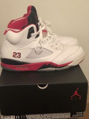 NIKE AIR JORDAN 5 RETRO FIRE RED SIZE 11 (READ DESCRIPTION) for Sale in McKees Rocks, PA