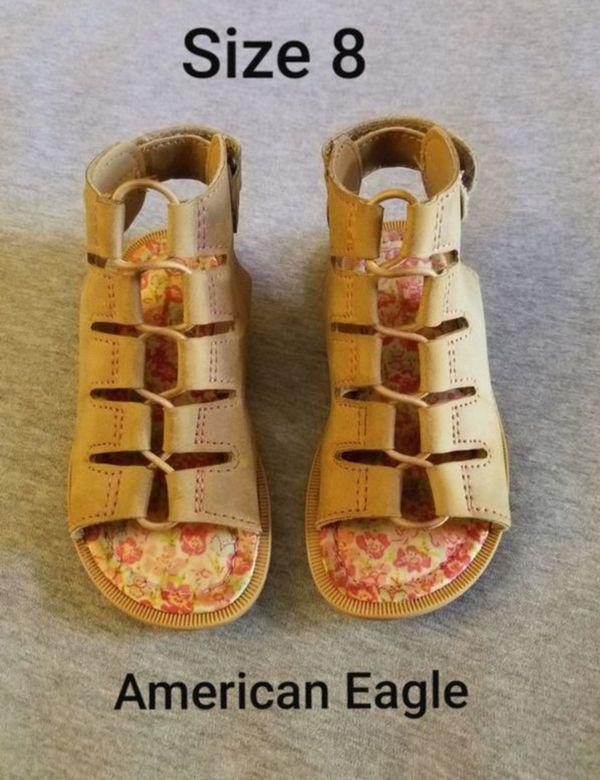 ac88da551735 Size 8 AMERICAN EAGLE gladiator sandals  7 for Sale in Santa Ana