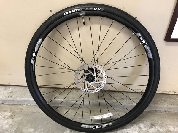 New Giant Gx28 700c 29er Wheels With Tubes Tires 160 Mm