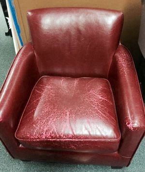 Big red chair for Sale in Seattle, WA