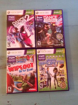 Kinect games for Sale in Apex, NC
