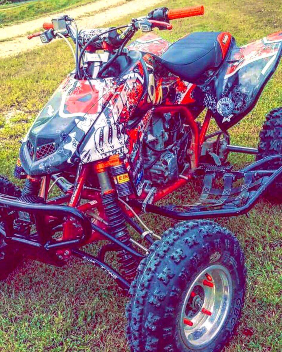 Photo 2007 Honda 450 trx