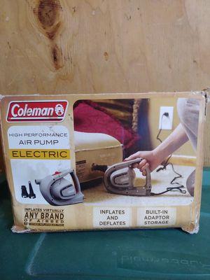 Coleman air mattress pump for Sale in Boston, MA