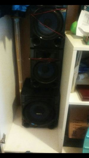 Sony speakers for Sale in Salt Lake City, UT