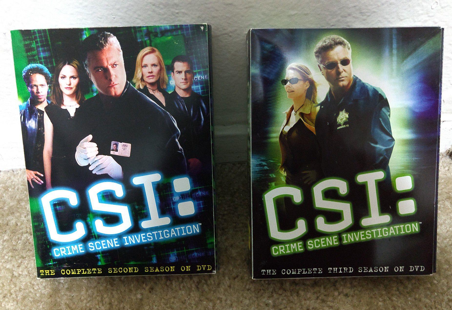 CSI LAS VEGAS COMPLETE second and third season