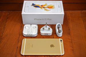 IPhone6s Plus Factory Unlocked + box and accessories + 30 day warranty for Sale in Arlington, VA