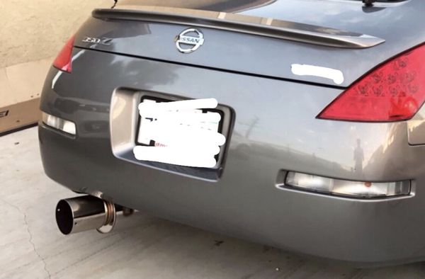 350z HKS Hi Power Single Exit Custom Exhaust! Must see! for Sale in Rancho  Cucamonga, CA - OfferUp
