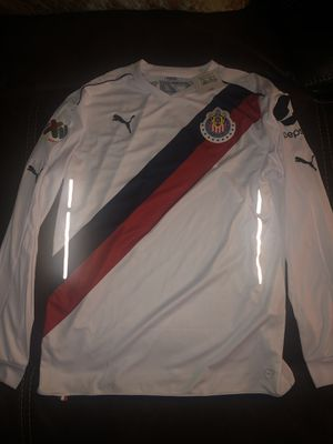 Chivas jersey season 17 to 18 new with tags and is the players version size is large for Sale in Perris, CA