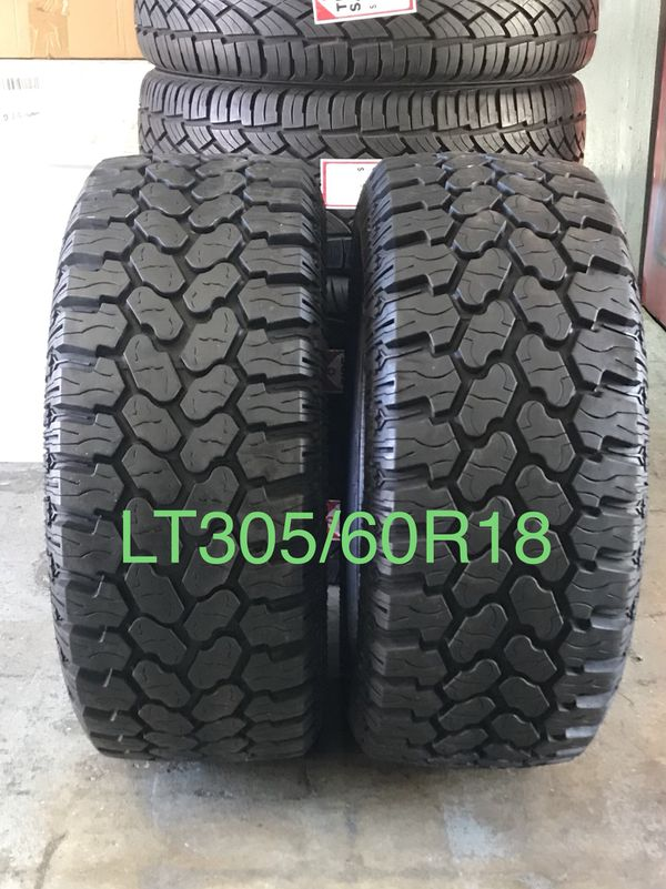Garcias Tire Shop >> Procomp Tires Lt305 60r18 For Sale In Lakeside Ca Offerup