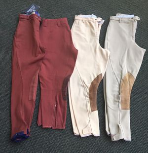 Riding breeches Harry Hall/Miller's for Sale in Apex, NC
