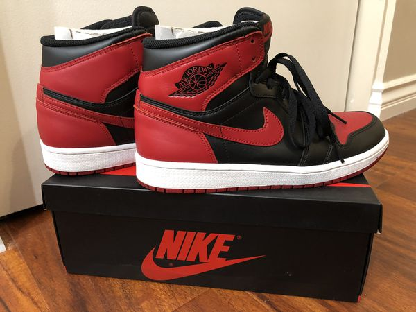 cheap for discount e2d1c 12343 Jordan 1 Bred 2013 Release Size 9 for Sale in Westminster, CA - OfferUp