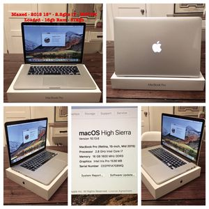 "PERFECT LOADED 15"" MacBook Pro Retina 16gb/1Tb M370X, Adobe, Office, Final Cut, Logic Pro! for Sale in Nashville, TN"
