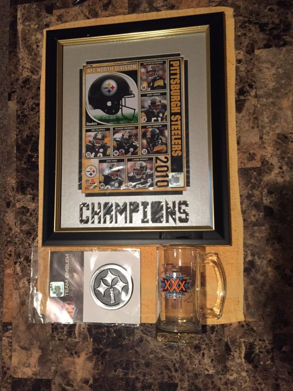 newest 8af89 036ae Pittsburgh Steelers memorabilia for Sale in Pittsburgh, PA - OfferUp