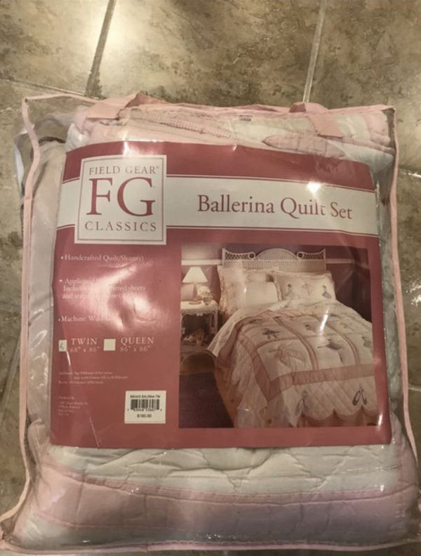 Ballerina Quilt Set For Sale In Orland Park Il Offerup