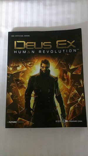 Deus Ex Human Revolution Game explanation book. for Sale in Manassas, VA