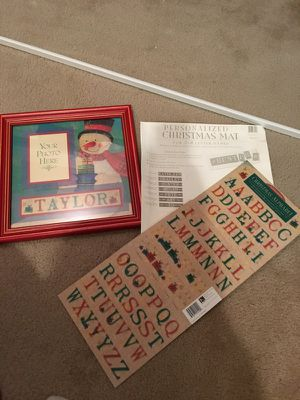 Personalized Christmas Mat for Sale in Germantown, MD