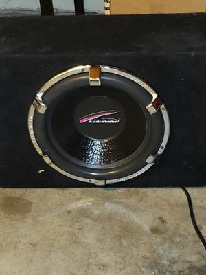 Photo Audiobahn subwoofer 15 Brad New IN Seal Box