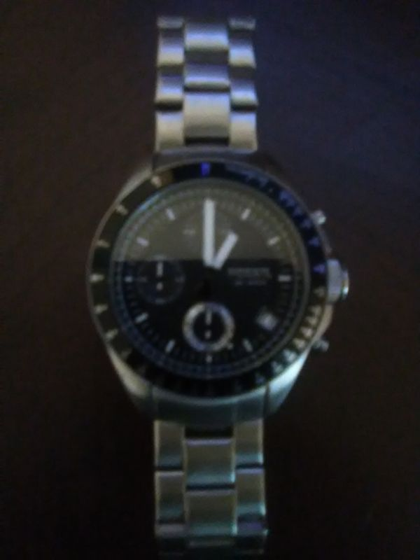 192f819b0 Fossil 10 ATM Goodwin Chronograph Stainless Steel Watch for Sale in ...