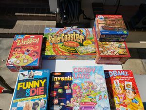 Puzzles and games for Sale in Whittier, CA