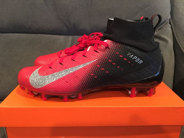 caed3a9da Nike Vapor Untouchable Pro 3 Football Cleats Black Red Mens Size  7.5/12(sold)