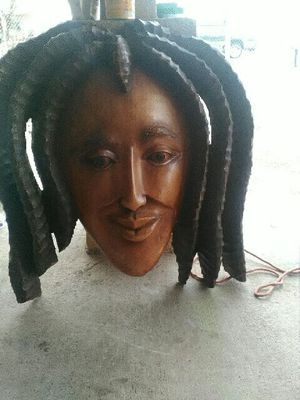 CARVING WOOD BOB MARLEY WALL HANGING for Sale in Las Vegas, NV