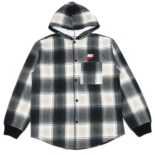 Supreme X Nike plaid hoodie XL for Sale in Fremont 78ccfd2fe981