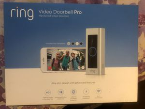 BRAND NEW RING VIDEO DOORBELL PRO for Sale in undefined