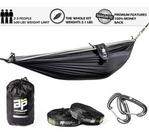 Brand New Double Hammock Top Features - 600 lb weight limit. Great for camping and backpacking for Sale in Salt Lake City, UT