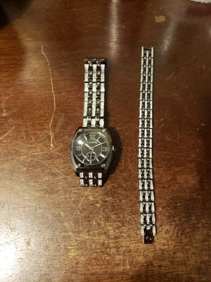 New Black Diamond watch and bracelet for Sale in Gaithersburg, MD