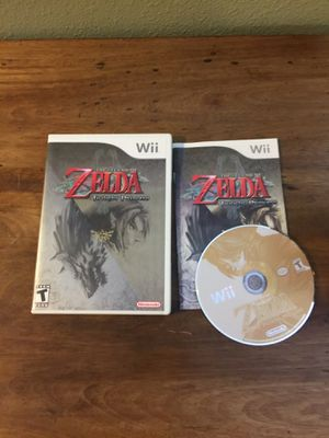 Zelda twilight princess Nintendo wii for Sale in Portland, OR