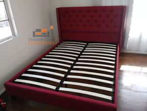 Brand new queen size platform bed frame only for Sale in Silver Spring, MD