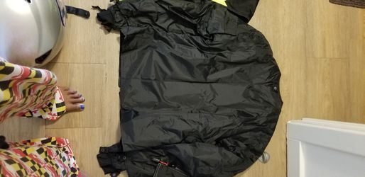 Motorcycle riding jacket and Reflective vest Thumbnail