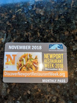 Monthly Bus Pass! for Sale in North Providence, RI