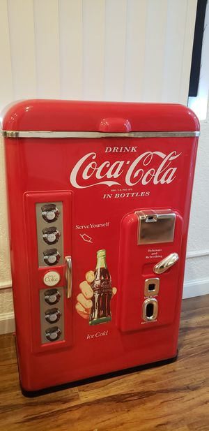 Photo Coke Coca Cola cooler in EXCELLENT condition Never used practically NEW comes with manual