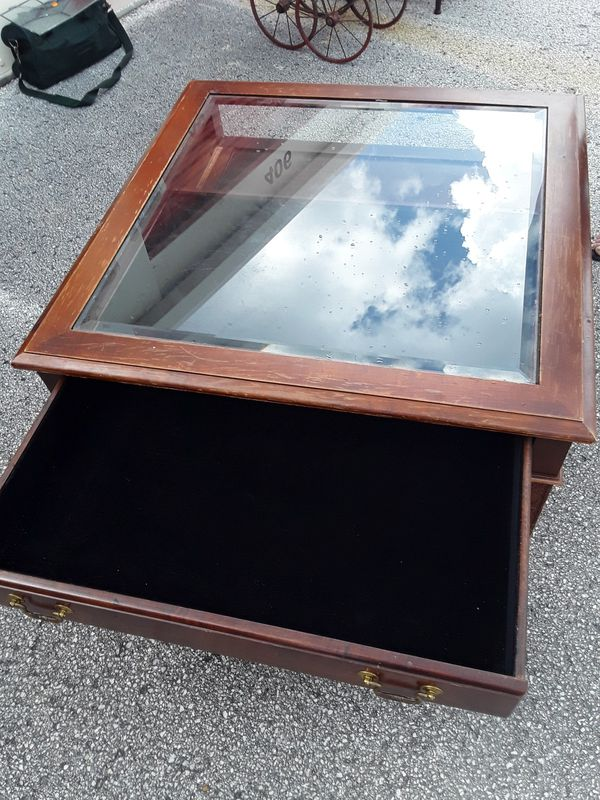 SHADOWBOX COFFEE TABLE For Sale In Holiday FL OfferUp - Shadow box coffee table for sale