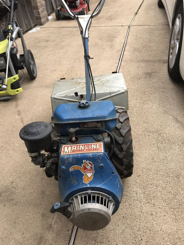 Bcs 10 hp tiller with mulched and sickle bar mower for Sale in Sugar Land,  TX - OfferUp