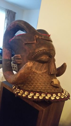 Kuba Nyet helmet mask (Authentic not for tourist trade) for Sale in Montgomery Village, MD