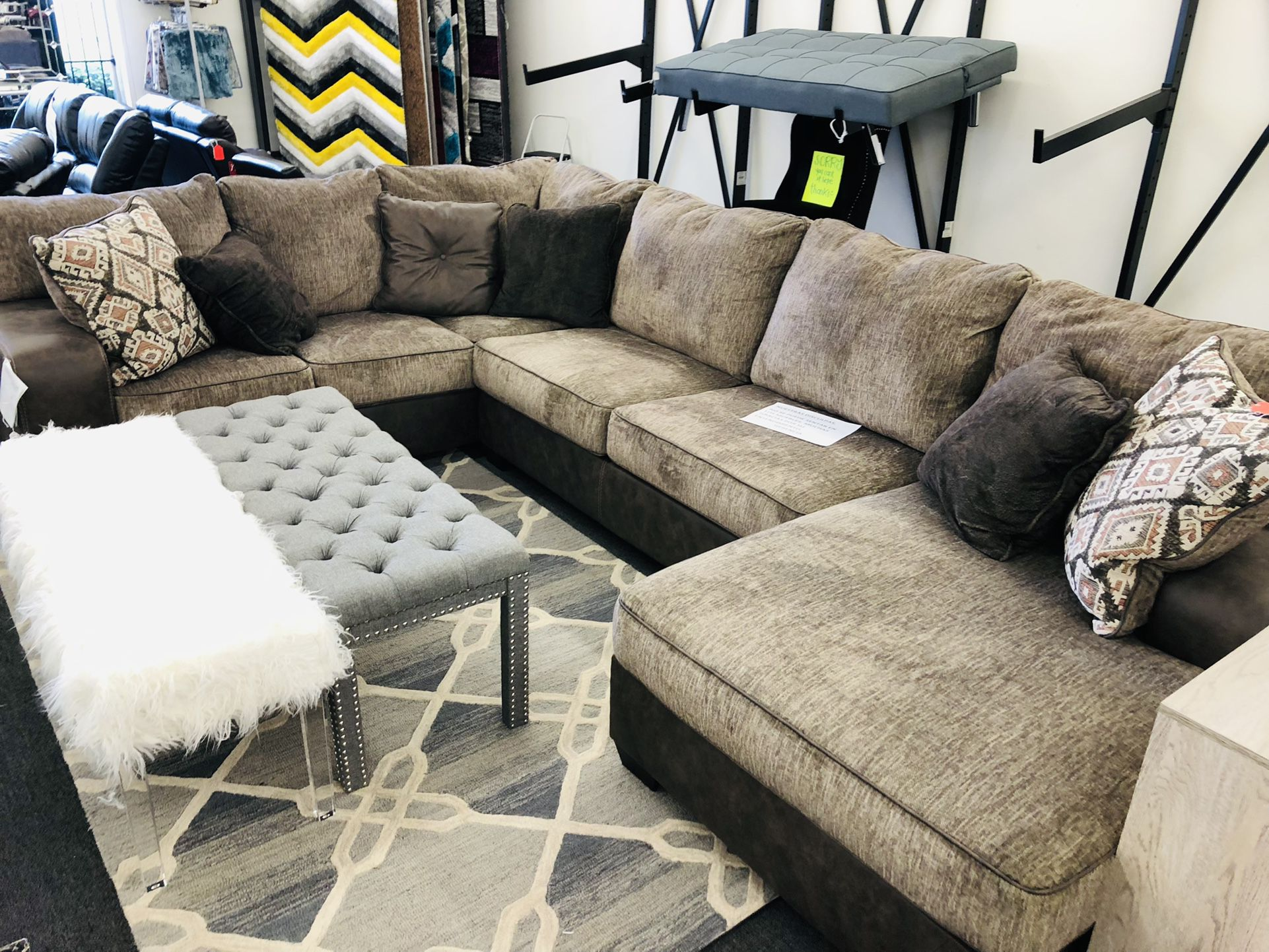 U Shaped Sectional For Sale