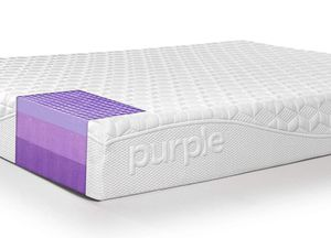 Purple queen mattress with cover for Sale in Arlington, VA