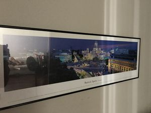 James blakeway panoramic photo of Madrid, Spain with frame for Sale in Chicago, IL